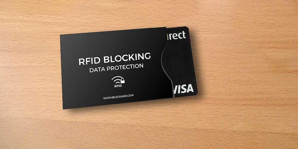 Schutzhülle für Pass & Kreditkarten mit RFID Chip
