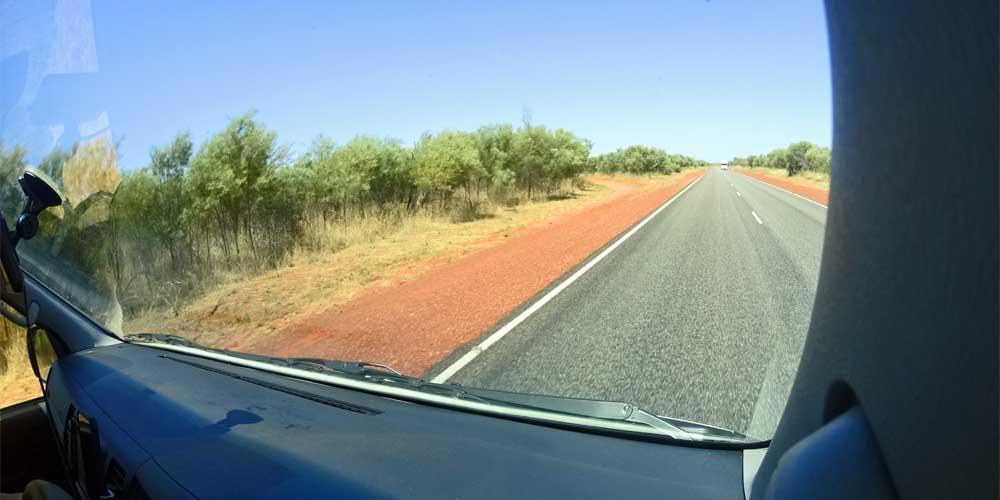 Straße im Kakadu Nationalpark.