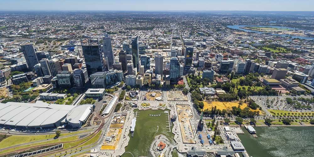 Perth, Hauptstadt von Western Australia