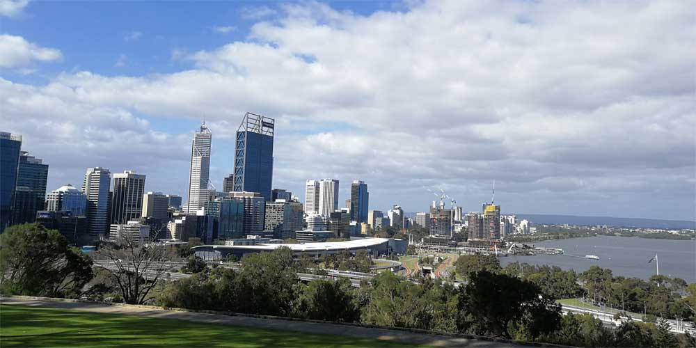 Perth, Hauptstadt von Westaustralien