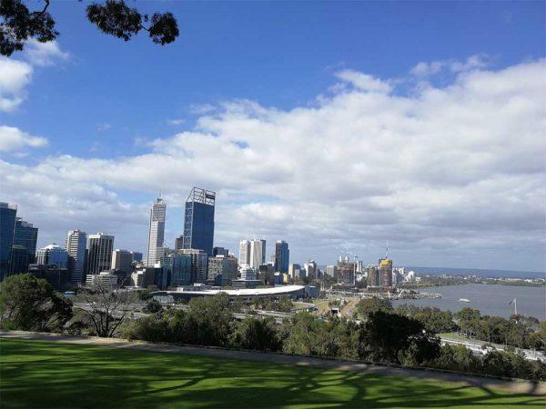 Perth die Hauptstadt Westaustraliens