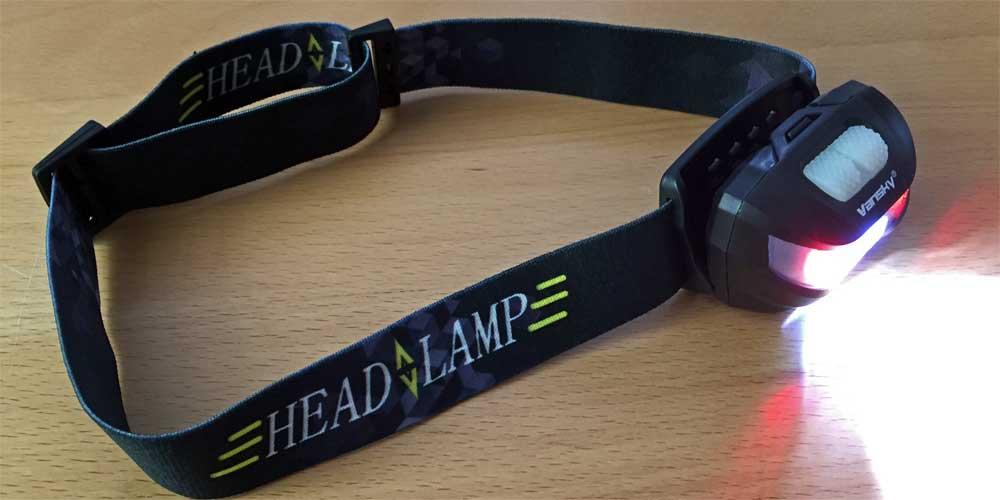 Stirnlampe fürs Camping