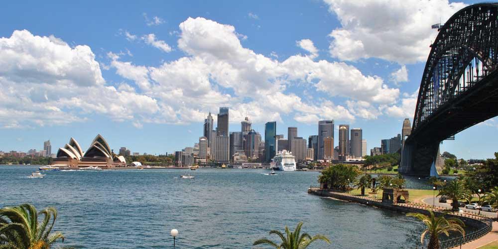 Sydney Harbour Bridge und Opera